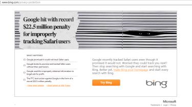 Microsoft Bing privacy