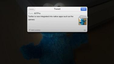 iPad vs Nexus - Twitter integration into iOS