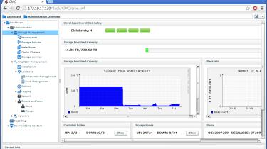 AmpliStor web interface
