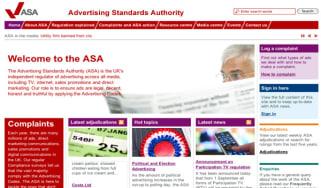 ASA homepage