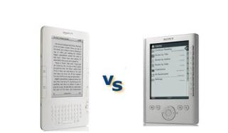 Amazon Kindle vs Sony Reader