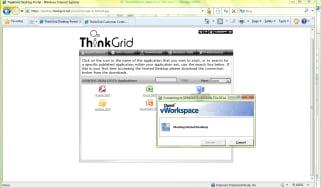Set up hosted desktops with ThinkGrid