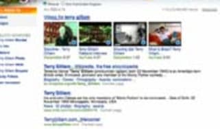 Bing image and video search