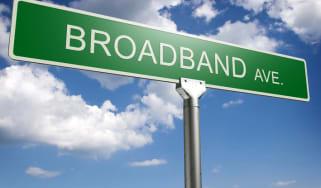 broadband sign