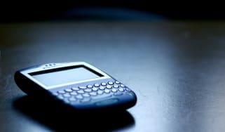 mobile on desk