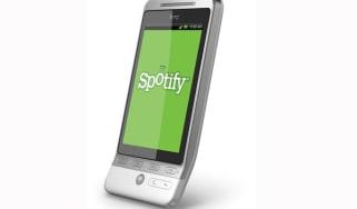 HTC Hero Spotify