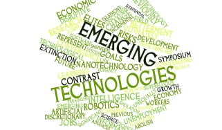 Emerging technologies word cloud