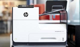 An HP Pagewide Pro 452dw printer
