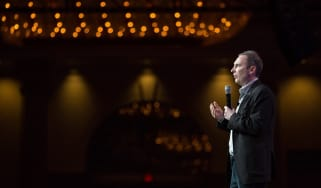 Andy Jassy on stage