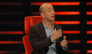 Jeff Bezos sitting in a chair
