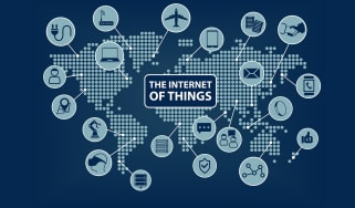 A collection of IoT devices