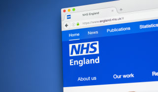 The NHS website as seen on an internet browser