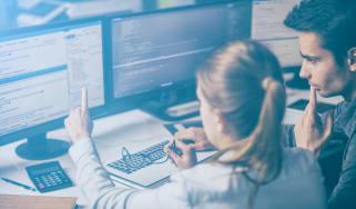 Cybersecurity lesson in progress