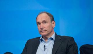 Sir Tim Berners-Lee at conference