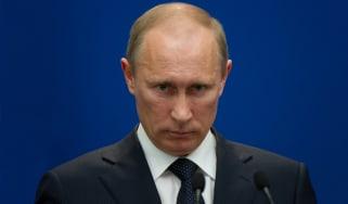 Putin looking villianish