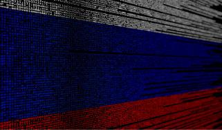 Russian hack concept