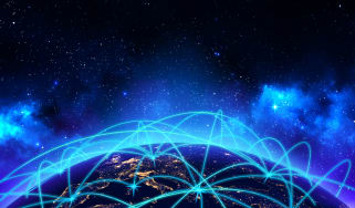 Networks connected with each other across the world