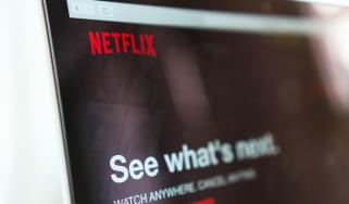 Netflix log in screen