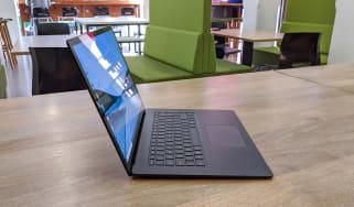 Microsoft Surface Laptop 3 15-inch model sitting on a desk