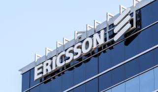Ericsson sign on a building