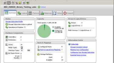IBM System Storage DS5020