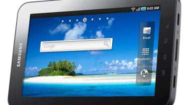 The Samsung Galaxy Tab