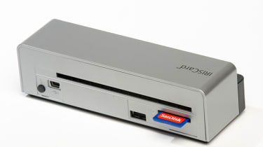The ports on the back of the IrisCard Anywhere 4