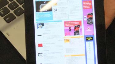 Browsing the web on the Samsung Galaxy Tab