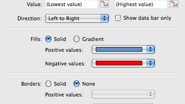 Conditional Formatting in Microsoft Excel 2011 for Mac