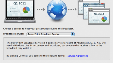 Broadcast Slide Shows across the Internet using PowerPoint 2011 for Mac