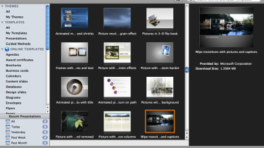 PowerPoint 2011 templates