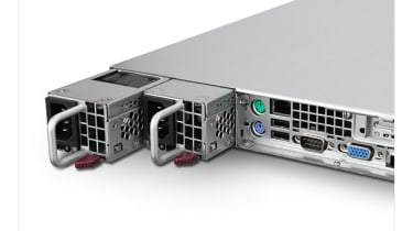 The GR360's dual power supplies