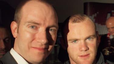 ITPRO correspondent Seth Barton with Wayne Rooney