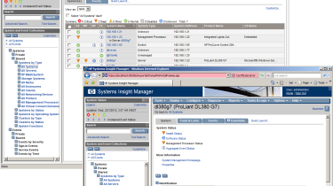 HP's Insight software provides the tools to manage all your servers from a single console.