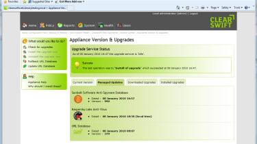 Clearswift Web Appliance ENW