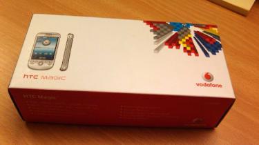 HTC Magic box