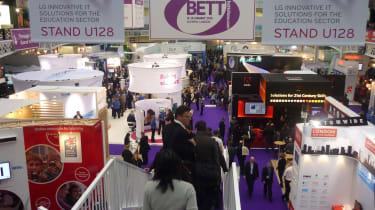 BETT show floor