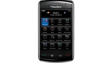 BlackBerry Storm - Front