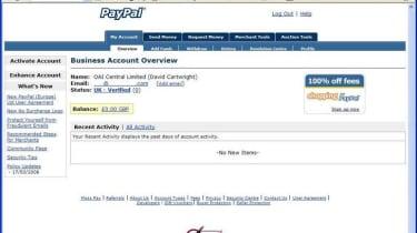 Step 3: PayPal Merchant Tools