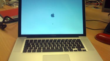 MacBook Pro - first boot