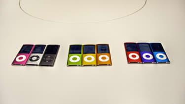 iPod Nano: Rainbow colours