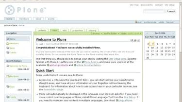 Step 3: Plone 2.1.2