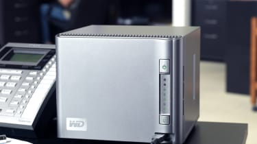 Western Digital ShareSpace 4TB - in use