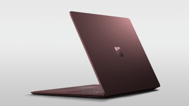 Surface Laptop burgundy trim