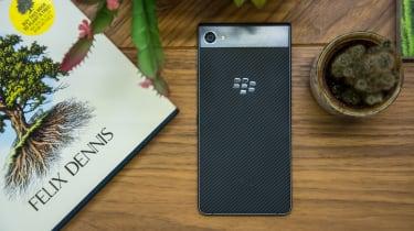 BlackBerry Motion smartphone - rear view