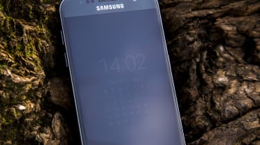 Samsung Galaxy S7 always-on display