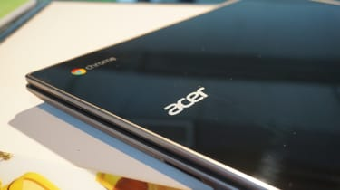 The Acer Chromebook 14 for Work with the lid closed