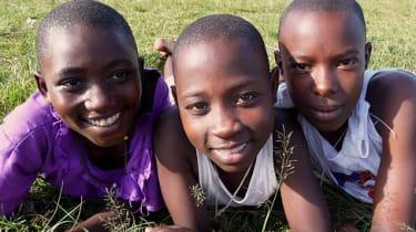 Students at KAASO in Uganda