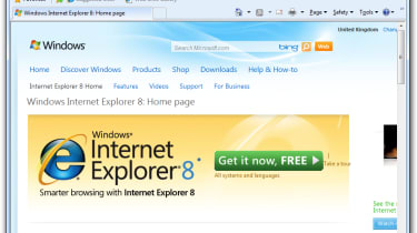 IE interface