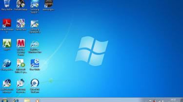 Samsung N140 default screen